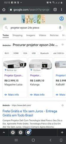 Projetor Epson power lite 24x - Foto 3