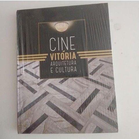 Livro Raro Cine vitoria arquitetura e cultura ( novo)