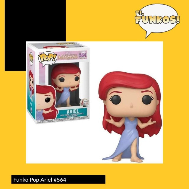 Funko Pop! - Ariel #564 - The Little Mermaid 30th