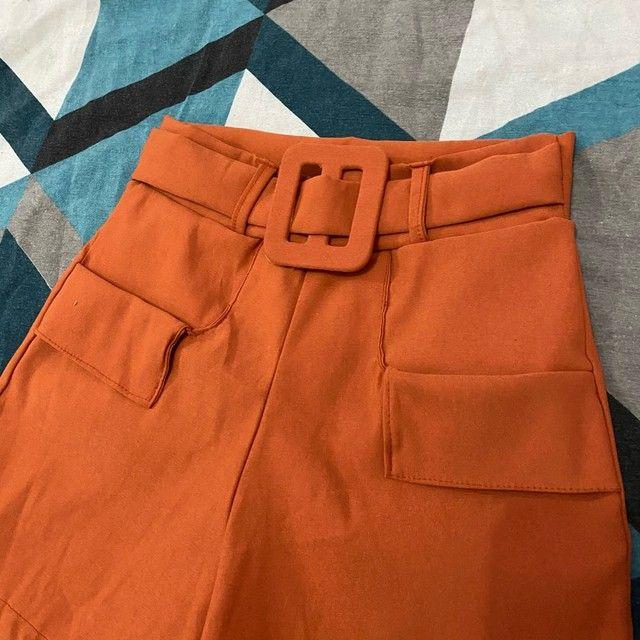 Short P/m cintura alta novo - Foto 3