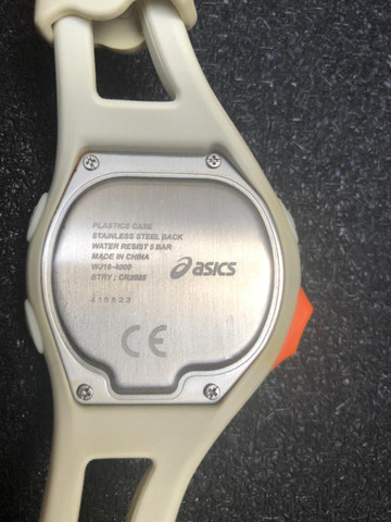 Relógio Asics Branco com Azul Masculino - Foto 3