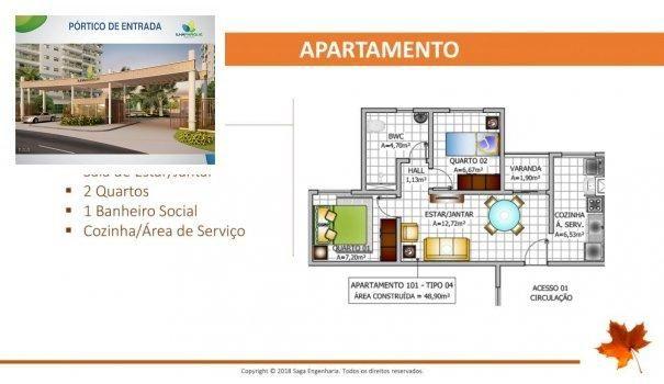 BELLEVILLE - Apartamento em Lançamentos no bairro Forquilha - São Luís, MA - Foto 14