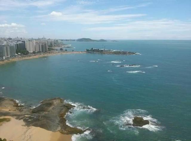 Ferias em Guarapari.13 andar frente mar na Praia da areia Preta