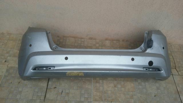 Parachoque traseiro Honda Fit 2012 a 2014 usado