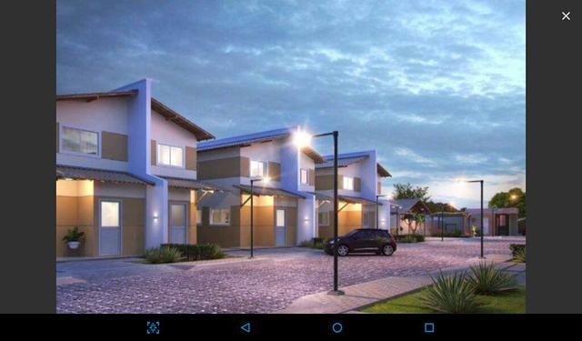 Cond de Casas duplex com entrada de 1500 reais zona norte e Dirceu