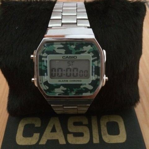 75bf9318354 Relógio Casio Vintage Unissex A168 - Bijouterias