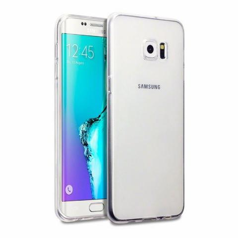 Película Protetora Galaxy S6 Edge Curva Vidro Temperado+case - Foto 4