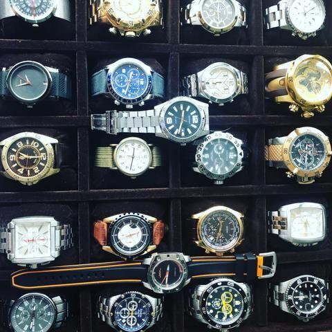 Vendo caixa completa de relógio - Foto 2