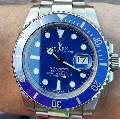 Rolex azul - Foto 4