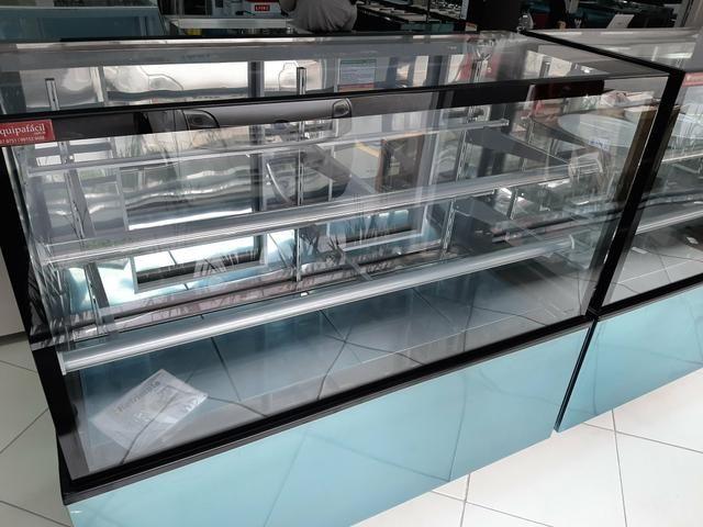 Vitrine seca de 1,50 com luz de led em todas as prateleiras 47- * jean - Foto 2
