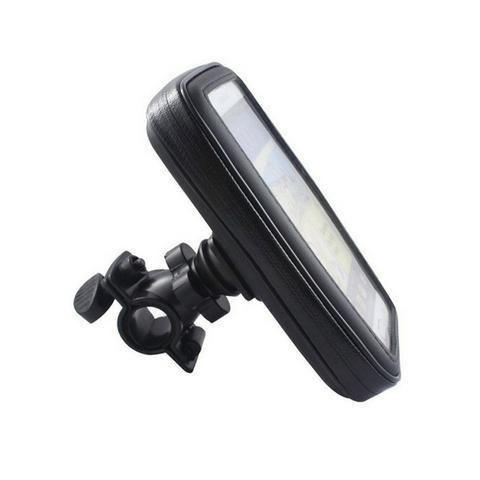 Suporte Moto Bike Impermeável Case Capa para Celular Smartphone Gps Bicicleta - Foto 5