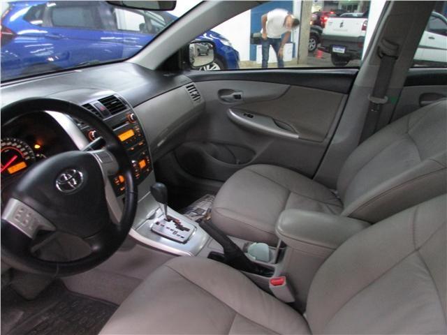 Toyota Corolla 1.8 gli 16v flex 4p automático - Foto 10