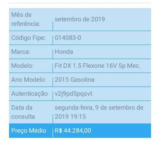 Honda Fit DX 1.5 MT - Foto 14
