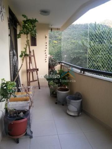 Apartamento 3 Quartos (1 Suíte) com Armários, 2 Vagas, Alto, Teresópolis, RJ - Foto 2
