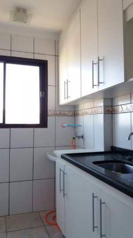 Apartamento com 2 dormitórios à venda, 42 m² por R$ 170.000 - Chácara Bela Vista - Sumaré/ - Foto 3