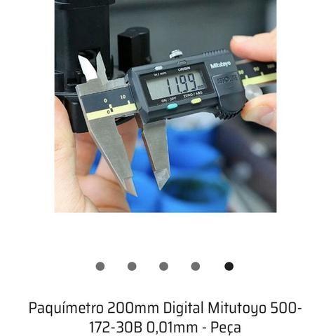 Paquímetro 200mm Digital Mitutoyo - Foto 4