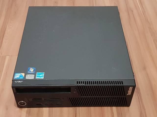 Computador i5 650 3.2 GHz 6bg ram HD160 Lenovo horizontal mesa - Foto 5