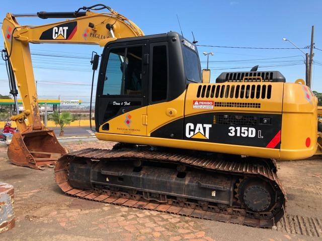 Escavadeira Cartepillar 315D ano 2008 em otimo estado - Foto 2