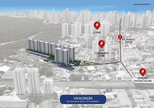 Apto com 3 qts 63m² em um Condomínio Clube Próximo a Antônio Falcão (81)9.8841.9885 - Foto 20
