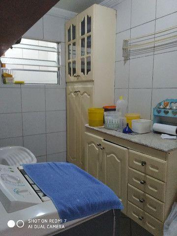 Sobrado centro de São Vicente 03 dormitórios Ac. troca por apartamento na Praia - Foto 16