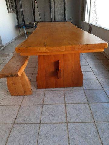 Mesa madeira maciça - Foto 2