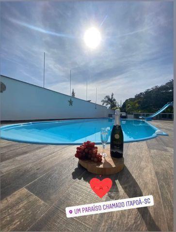 Aluga-se linda casa de praia com piscina en Itapoa ; barra do saí por temporada - Foto 15