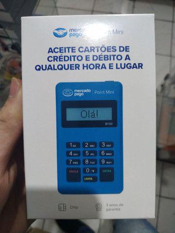 Máquina de Cartão Point Blue Crédito e Débito - Foto 2