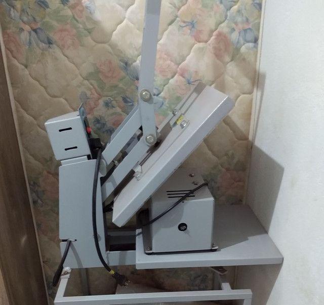 Máquina de estampa completa
