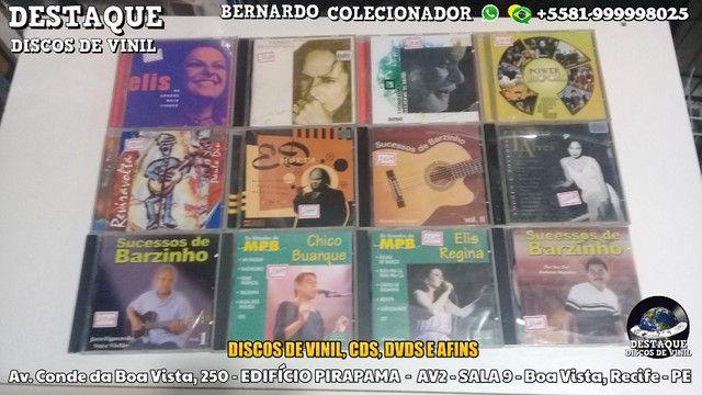 Discos de Vinil, CDs e DVDs, vários preços e gêneros - Foto 6