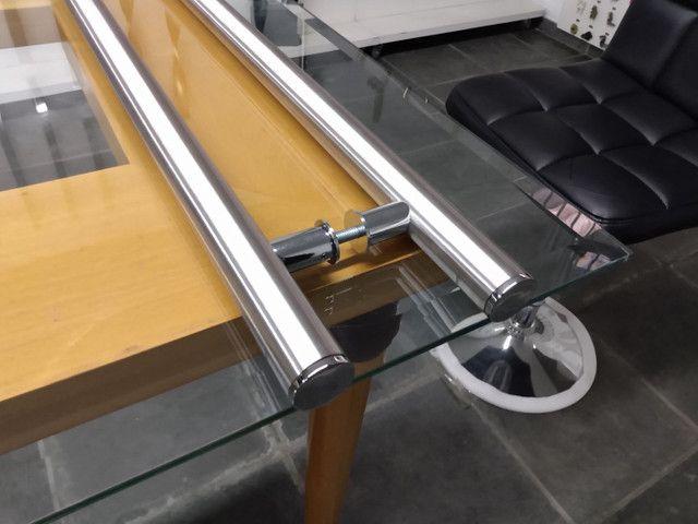Alça de aço inox 304 escovado - Foto 2