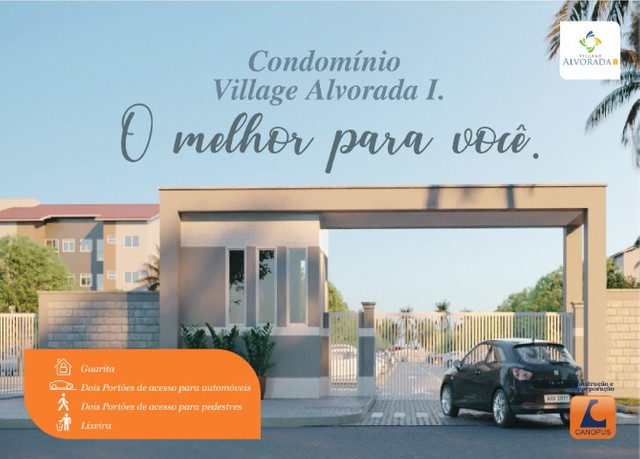 Condominio village da alvorada, canopus construção - Foto 2