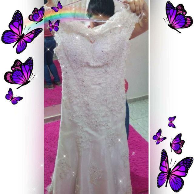 Vendo vestido de noiva tamanho G