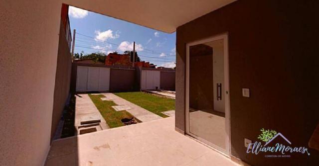 Casa à venda, 89 m² por R$ 238.000,00 - Precabura - Eusébio/CE - Foto 4