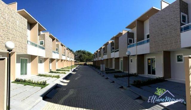 Casa com 2 dormitórios à venda, 69 m² por R$ 220.000,00 - Tamatanduba - Eusébio/CE - Foto 3