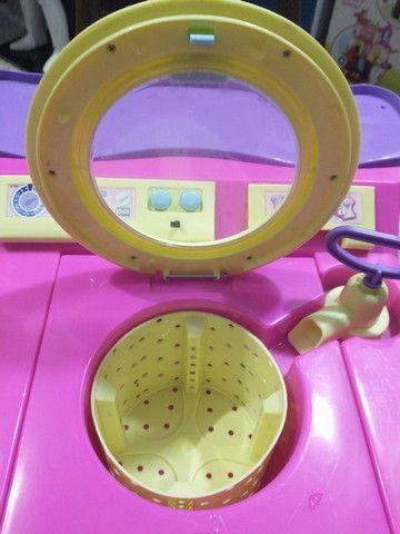Linda Máquina de Lavar - Brinquedo - Foto 4