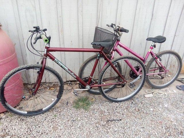 Vendo duas bicicletas em perfeito estado - Foto 6