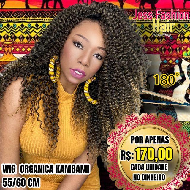 Wig KamBami fibra Futura R$:170,00 - Foto 3