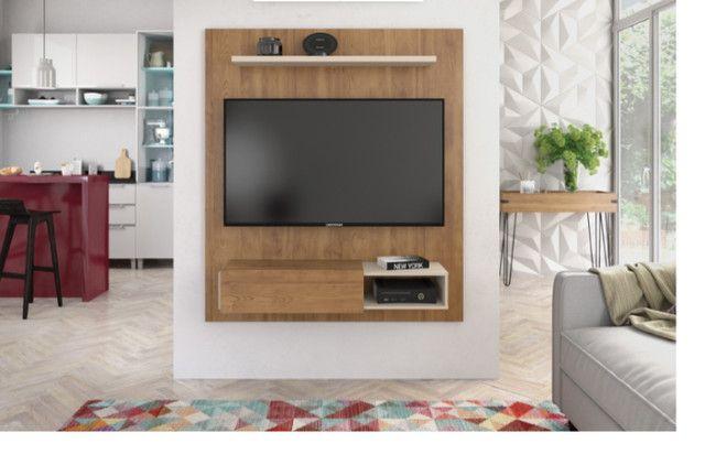 Rack suspenso da Caemmun com espaço para TV até 50 polegadas || NOVO