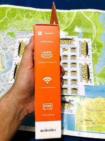 MI Tv Stick Lacrado C/ Garantia Versão Global Android TV Smart TV SmartTV - Foto 3