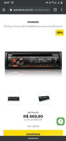 Troco rádio pionner Bluetooth-mixtrax Por Notebook