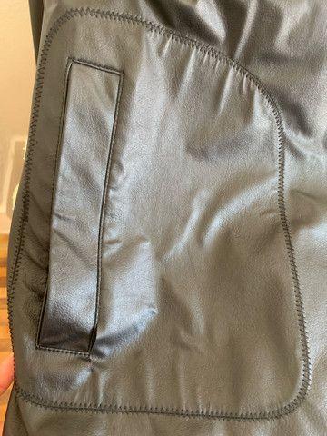 Jaqueta de couro masculina  - Foto 3