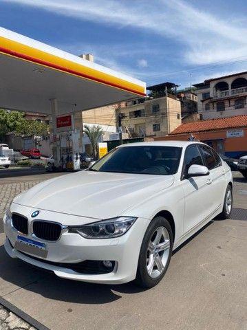 BMW 320i apenas 65.000 km branco pérola 2014 - Foto 3