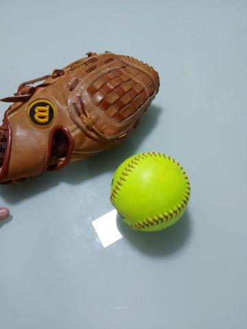 Luva de Baseball Wilson + Bola de baseball - Foto 2