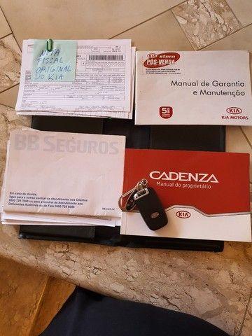 Abaixo da Fipe - Kia Cadenza Automático Teto Solar modelo 2011  - Foto 17