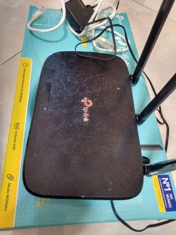 Roteador wireless TP-Link vc na caixa - Foto 2