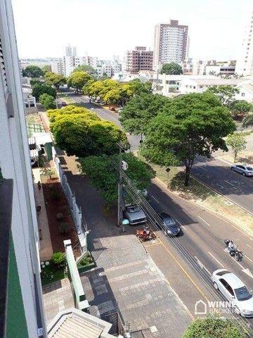 Apartamento com 3 dormitórios para alugar, 69 m² por R$ 950,00/mês - Vila Bosque - Maringá - Foto 11