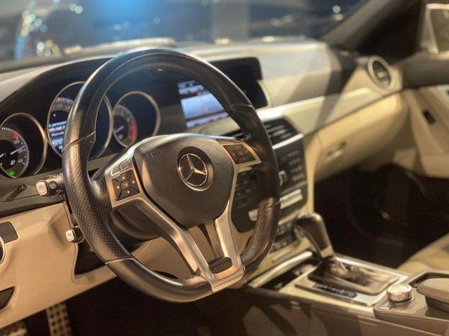 Mercedes-Benz C250 CGI SPORT 1.8 16V TB Automático 2013/2013 configuração Linda  - Foto 8