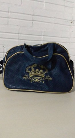 Bolsa azul de bebê  - Foto 6