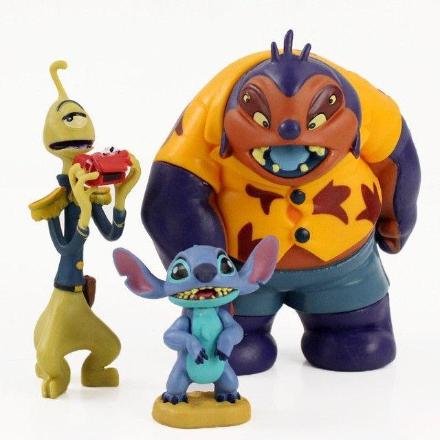 Bonecos Lilo E Stitch Coleção Boneco Disney Pronta Entrega - Foto 3
