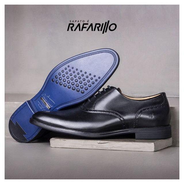 Sapato Social Rafarillo Macerata ( 38 ) Preto. Extremamente confortável - Foto 2